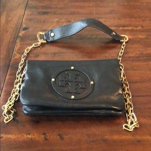 Tory Burch Black handbag with removable strap
